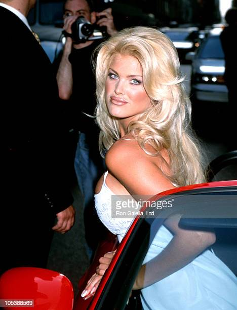 Victoria Silvstedt during Playboy's 1997 Playmate of the Year Party May 12 1997 at AuBar in New York City New York United States
