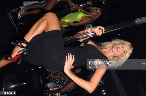 Victoria Silvstedt during Stephen Dorff Birthday at the Swedish Party at VIP Room in St Tropez France