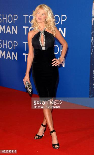 Victoria Silvstedt during the World Music Awards at Earls Court in central London