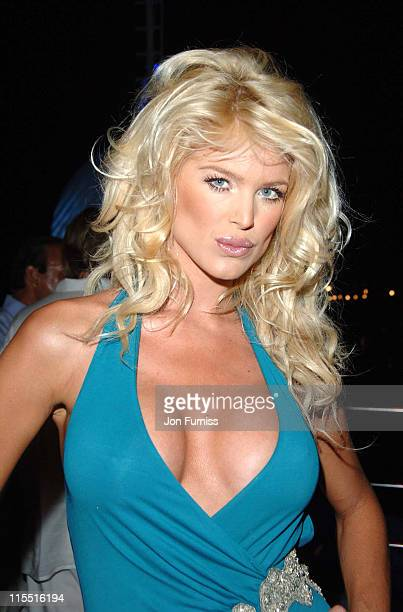 Victoria Silvstedt during 'Unforgivable' Fragrance Celebration Dinner St Tropez France in St Tropez France