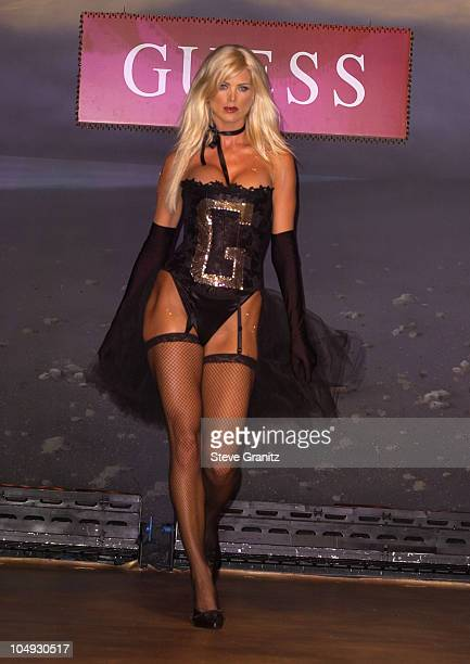 Victoria Silvstedt during Vanity Fair Toasts Guess In Celebration Of The Dream Denim Makers 20th Anniversary at The Wilshire Ebell Theatre in Los...