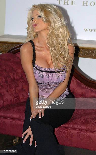 Victoria Silvstedt during Victoria Silvstedt Launches Her First Lingerie Collection 'The House of Lingerie' at 33 Portland Place in London Great...