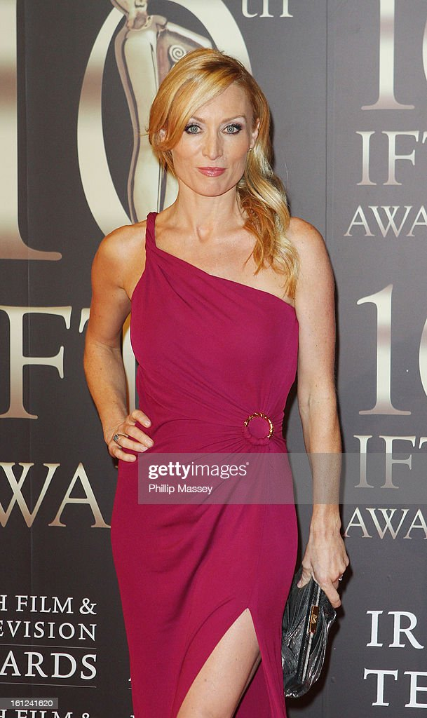 <a gi-track='captionPersonalityLinkClicked' href=/galleries/search?phrase=Victoria+Smurfit&family=editorial&specificpeople=226962 ng-click='$event.stopPropagation()'>Victoria Smurfit</a> attends the Irish Film and Television Awards at the Convention Centre Dublin on February 9, 2013 in Dublin, Ireland.