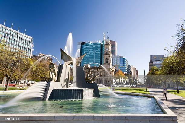 Victoria Square in Adelaide