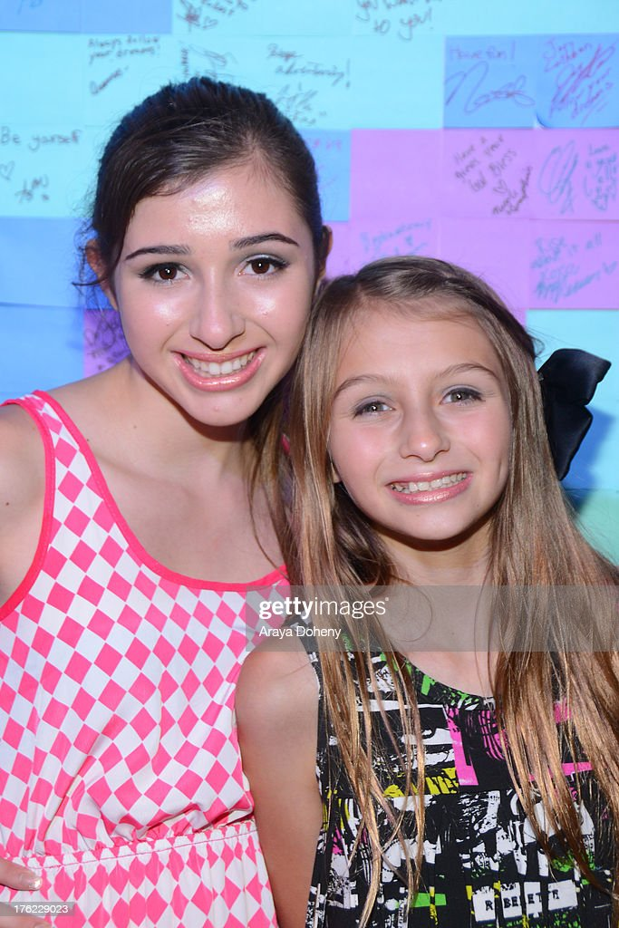 Victoria Strauss and Sophia Strauss attend Teen Choice Awards After 'Party' For A Cause Hosted by Boys & Girls Clubs of America and Staples at Saddle Ranch on August 11, 2013 in Universal City, California.
