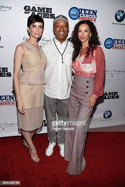 Victoria Summe Russell Simmons and Sofia Milos attend Tea With Victoria Summer at British Consulate General Residence To Benefit Teen Cancer America...