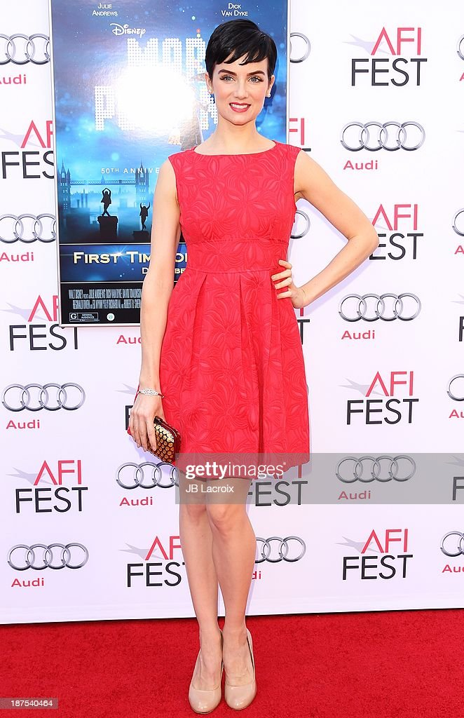 <a gi-track='captionPersonalityLinkClicked' href=/galleries/search?phrase=Victoria+Summer&family=editorial&specificpeople=7721641 ng-click='$event.stopPropagation()'>Victoria Summer</a> attends the AFI FEST 2013 Presented By Audi - 'Mary Poppins' 50th Anniversary Edition held at TCL Chinese Theatre on November 9, 2013 in Hollywood, California.