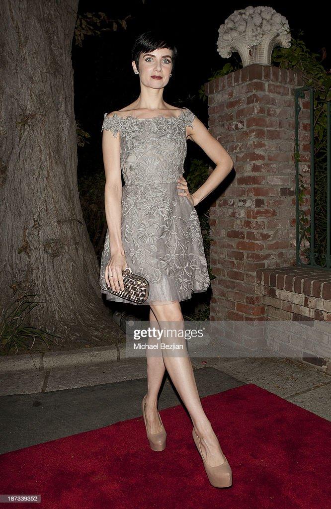 Victoria Summer attends The Consul General Of Canada Mr. David Fransen Honors Canadian Fashion Designer, Dalia MacPhee on November 7, 2013 in Los Angeles, California.