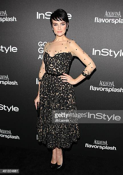 Victoria Summer attends The Hollywood Foreign Press Association And InStyle 2014 Miss Golden Globe Announcement/Celebration at Fig Olive Melrose...