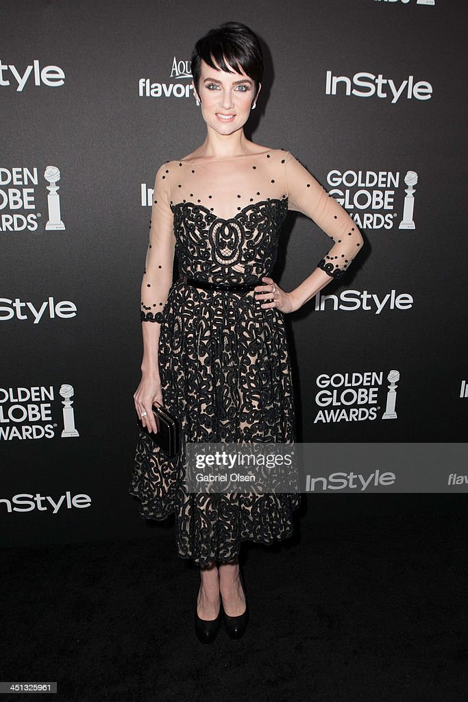 <a gi-track='captionPersonalityLinkClicked' href=/galleries/search?phrase=Victoria+Summer&family=editorial&specificpeople=7721641 ng-click='$event.stopPropagation()'>Victoria Summer</a> attends The Hollywood Foreign Press Association (HFPA) And InStyle Celebrates The 2014 Golden Globe Awards Season at Fig & Olive Melrose Place on November 21, 2013 in West Hollywood, California.