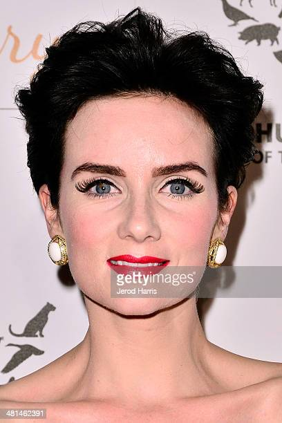 Victoria Summer attends the Humane Society of the United States 60th Anniversary Benefit Gala at The Beverly Hilton Hotel on March 29 2014 in Beverly...
