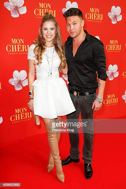 Victoria Swarovski and Kay One attends the Mon Cheri Barbara Tag 2014 at Haus der Kunst on December 4 2014 in Munich Germany
