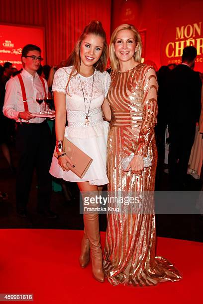 Victoria Swarovski and Kelly Rutherford attend the Mon Cheri Barbara Tag 2014 at Haus der Kunst on December 4 2014 in Munich Germany