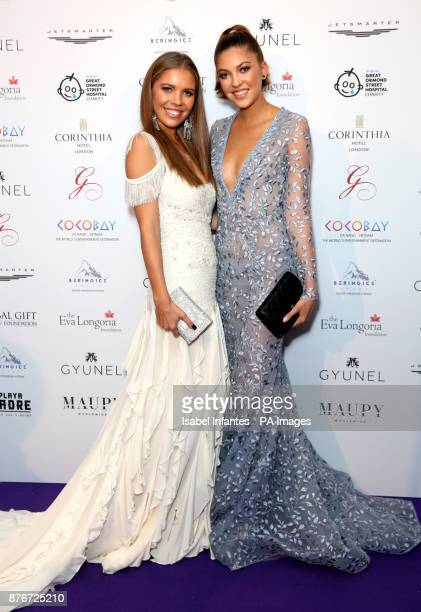 Victoria Swarovski and Pauline Swarovski attending the Global Gift Gala held at The Corinthia Hotel in London PRESS ASSOCIATION Photo Picture date...