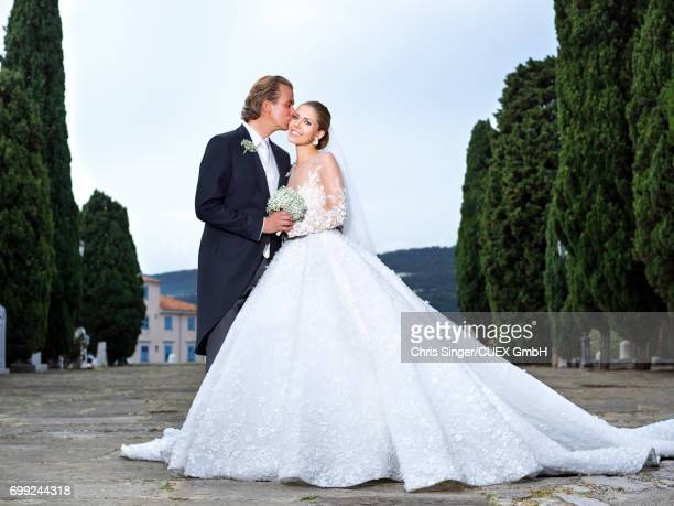 Victoria Swarovski and Werner Muerz get married on June 16 2017 in Trieste Italy