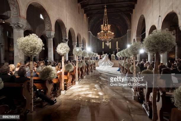 Victoria Swarovski and Werner Muerz Get Married on June 16 2017 in Trieste Italy