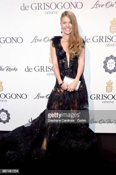 Victoria Swarovski attends DeGrisogono 'Love On The Rocks' during the 70th annual Cannes Film Festival at Hotel du CapEdenRoc on May 23 2017 in Cap...
