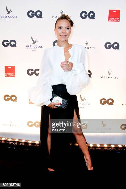 Victoria Swarovski attends the GQ Mension Style Party 2017 at Austernbank on July 5 2017 in Berlin Germany