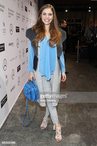 Victoria Swarovski attends the Laurel show during the MercedesBenz Fashion Week Berlin A/W 2017 at Kaufhaus Jandorf on January 18 2017 in Berlin...