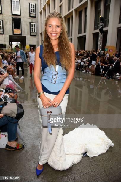 Victoria Swarovski attends the Marina Hoermanseder show during the Berliner Mode Salon Spring/Summer 2018 at Kronprinzenpalais on July 7 2017 in...