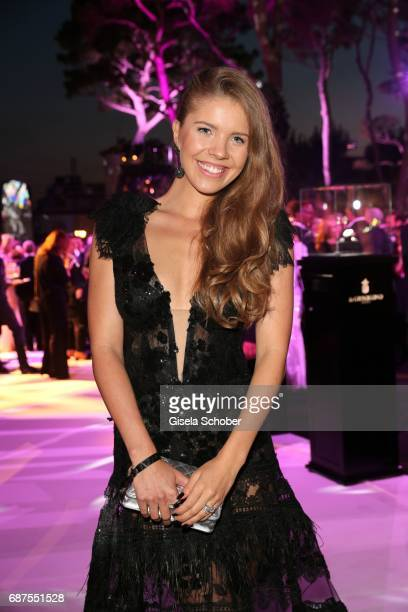 Victoria Swarovski during the DeGrisogono 'Love On The Rocks' gala during the 70th annual Cannes Film Festival at Hotel du CapEdenRoc on May 23 2017...