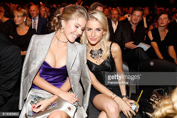 Victoria Swarowski and Caro Daur attend the Tribute To Bambi at Station on October 6 2016 in Berlin Germany