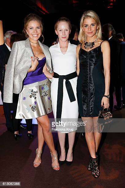 Victoria Swarowski Susanne Wuest and Caro Daur attend the Tribute To Bambi at Station on October 6 2016 in Berlin Germany