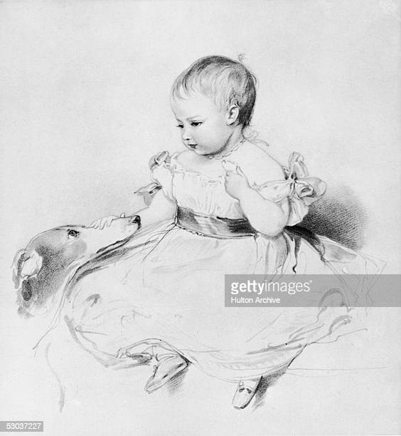 Victoria the eldest child of Queen Victoria sketched by her mother when 11 months old October 1841 She married Friedrich III of Germany and Prussia...