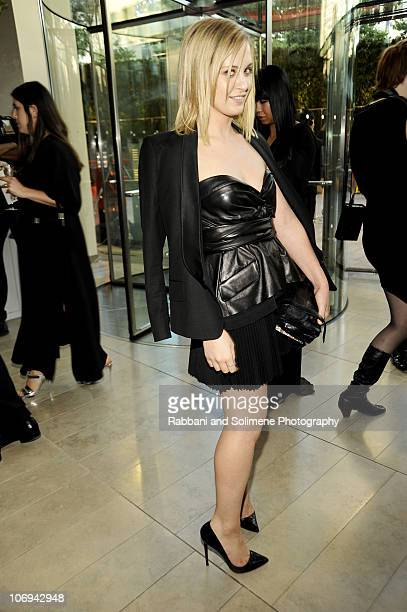 Victoria Traina attends the 2010 CFDA Fashion Awards at Alice Tully Hall Lincoln Center on June 7 2010 in New York City