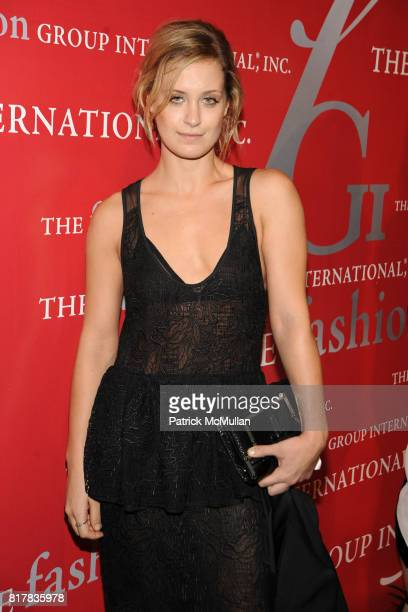 Victoria Traina attends The Fashion Group International 'NIGHT OF STARS' 2010 at Cipriani Wall Street on October 28 2010 in New York City