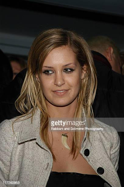 Victoria Traina during Olympus Fashion Week Fall 2005 Narciso Rodriguez After Party at 49 Grove in New York City New York United States