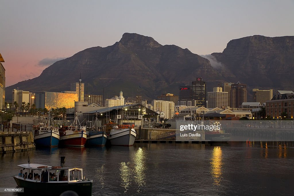 Victoria Waterfront, Cape Town South Africa : Stock Photo