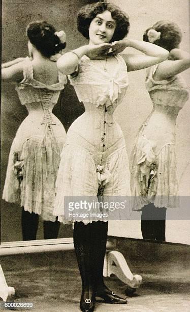 Victorian corset End 1890s Found in the collection of Musée des Arts Décoratifs Paris Artist Anonymous