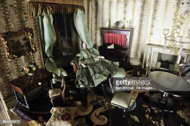 A Victorian doll's house which is to be auctioned at Chorley's in Gloucestershire on 28 November 2013