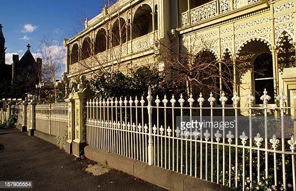 Victorian era houses East Melbourne Victoria Australia