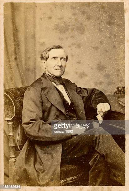 Victorian Gentleman alten Foto