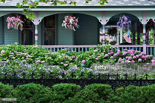 Victorian house and gardens