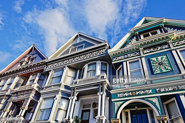 Victorian houses in Haight-Ashbury