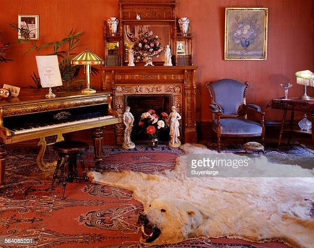 Victorian parlor of the Molly Brown House and Museum in Denver Colorado