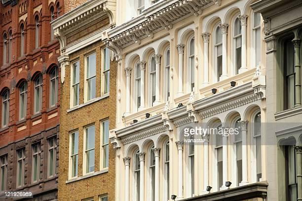Victorian Row Houses in Washington D.C.
