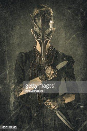 Victorian Steampunk Plague Doctor Assassin