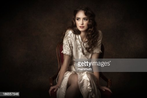 victorian style young woman