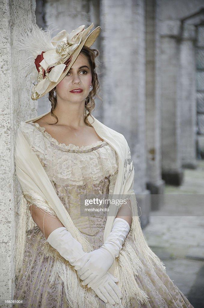 Victorian Woman Looking Away