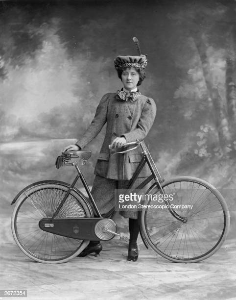 Victorian women's fashion was revolutionalised with the arrival of the safety cycle in 1884 Miss Alice Hughes in 'A Professor's Love Story'