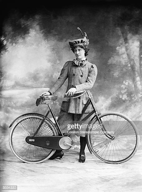 Victorian women's fashion was revolutionalised with the arrival of the safety cycle in 1884 Miss A Hughes in 'A Professor's Love Story'