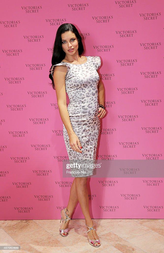 Victoria's Secret Angel Adriana Lima launches the 'Victoria's Secret Fantasy Bra' worth $10million as she celebrates the festive season at Victoria's...