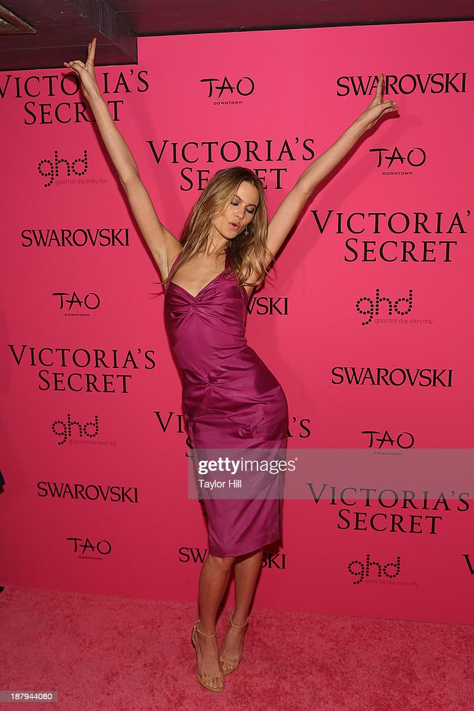 Victoria's Secret Angel <a gi-track='captionPersonalityLinkClicked' href=/galleries/search?phrase=Behati+Prinsloo&family=editorial&specificpeople=4319064 ng-click='$event.stopPropagation()'>Behati Prinsloo</a> attends the after party for the 2013 Victoria's Secret Fashion Show at TAO Downtown on November 13, 2013 in New York City.
