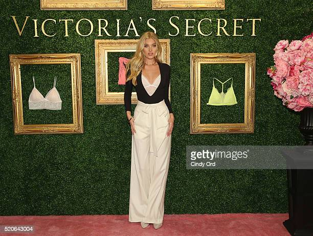 Victoria's Secret Angel Elsa Hosk hosts global media live stream to reveal Bralette Collection launch multicity tour at Victoria's Secret Herald...