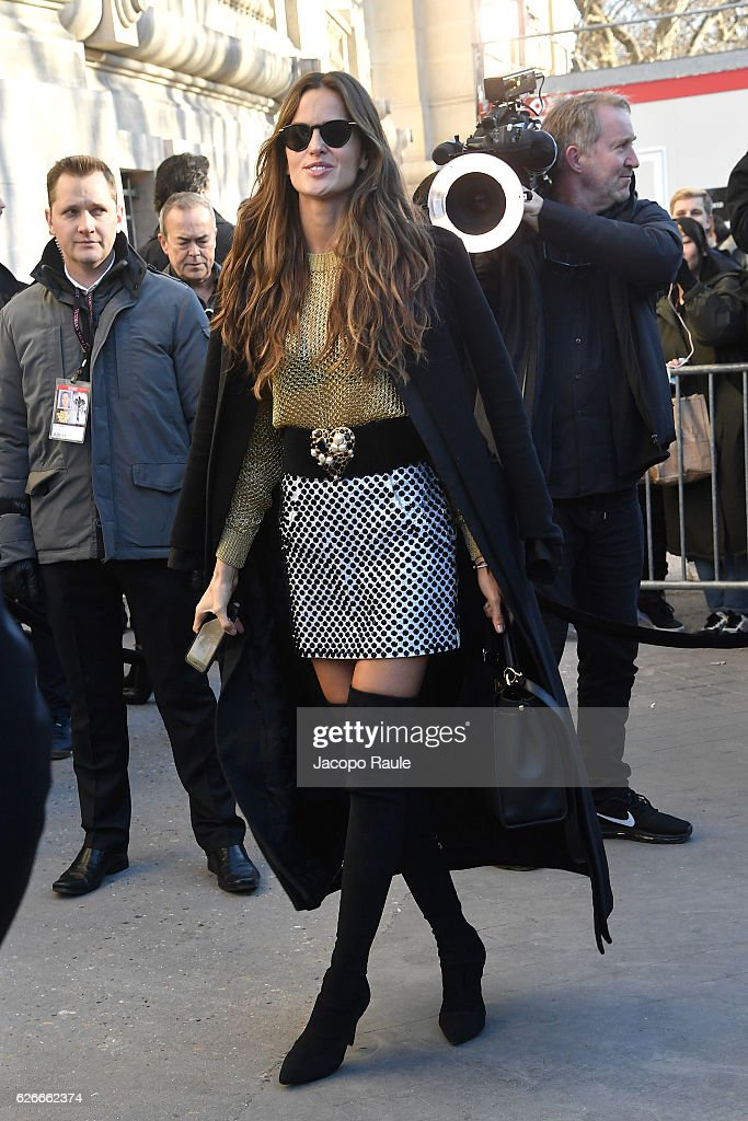 victorias-secret-angel-izabel-goulart-is-seen-arriving-at-le-grand-picture-id626662374