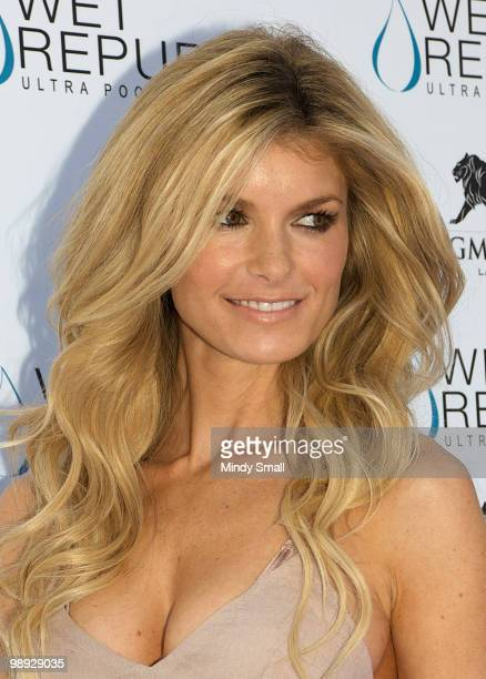 Victoria's Secret Angel Marisa Miller attends pool party hosted by Marisa Miller at Wet Republic on May 8 2010 in Las Vegas Nevada
